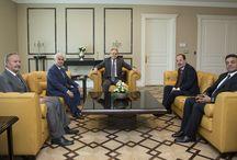 Edirne Valisi Dursun Ali Şahin ve Edirne Belediye Başkanı Recep Gürkan Ziyaret