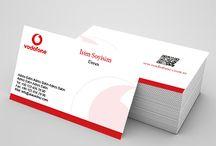Kartvizit / Kurumsal ve özel kullanım için kartvizit örnekleri