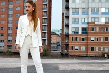 Blog-The White Suit / Pictures from our blog  www.fashionmegawatts.com