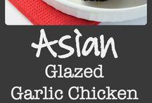 asian garlic chicken