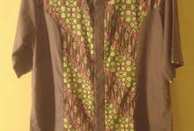 Koko Batik Modif / Bahan cotton twill, adem dan nyaman