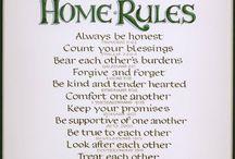 house rulls