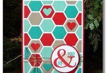 Hexagon punch/framelits