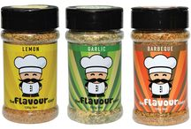 The Flavour Chef 6 / SALT FREE, unique flavourings blended to enhance any meal you lather it on. These Four incredibly irresistible seasonings are available online only. http://www.theflavourchef.com.au/