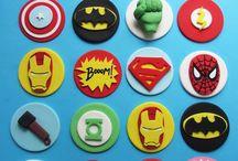 Superhero Cupcake Ideas