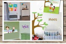 Kinderkamerkunst - Nursery room art / Kinderkamerkunst - Nursery room art