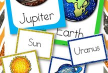 HS-Unit:Planets/Solar Systems / by Michelle Rougeau