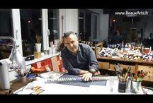 Vidéos : Peinture à l'huile / Retrouvez ici toutes les Vidéos de Fred de BeauxArts.fr à propos de la peinture à l'huile