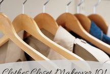 For the Bedroom Closets / by Debbie Huntzinger