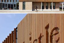 Creative exterior building