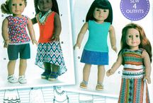 American Girl - 18 Inch Dolls Clothes Patterns - Etsy