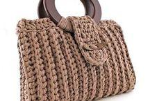 Bolsa de mão crochê