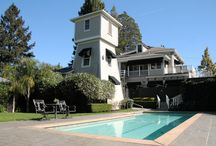 Honor Mansion, Healdsburg, California / The Honor Mansion is an original - a historic property with all of the romance and charm one seeks to find in a bed & breakfast experience with the luxurious amenities of a four-star resort.