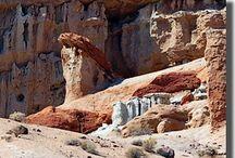 Hoodoos & champignons / Les curiosités du Southwest