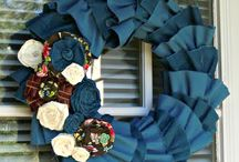 Crafts wreaths / by Cindy B