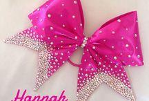bows cheerleaders