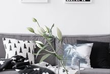 INSPIRATION: Livingrooms [Black & White]