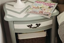 Side bedroom cabinet