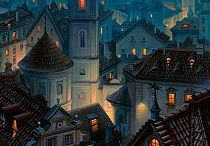 Paintings by Evgeny Lushpin