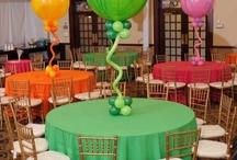 balloon decor / by Nealandgill Sparrow-knip