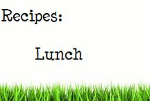 Recipes: Lunch