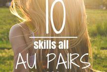 Au Pair Tips and Skills / Au Pair