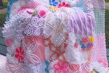 Chenille quilt ideas