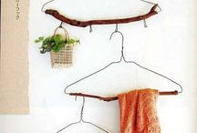 Organize \\ Storage / Finding creative ways to store various items. Aesthetically organize. Home decoration.