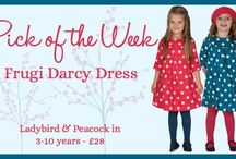 Pick of the Week at Jotoha / Our choice of fab #childrens #clothes #footwear and #toys
