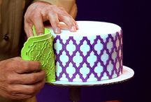 Cake decorating: Silicone Onlays/ Stenciling
