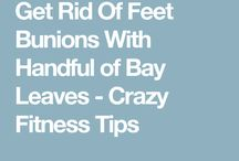 Bunion with bay leaf (for tea)