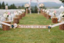 Cute ideas for the wedding