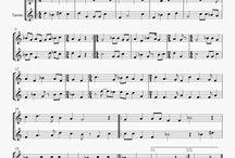 Partituras para música medieval
