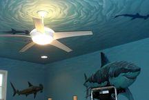 Pintura em parede. / Inspirações de pinturas em paredes para um dia fazer. Ou não