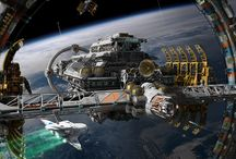 Space Station / Space hangars / stations