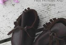 baby shoes DIY