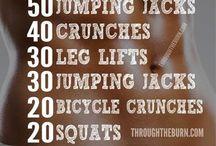 Flat tummy workout