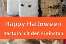 Halloween / Bunter Mix an Bastelarbeiten, Rezepten und alles was den Gruselfaktor nach oben treibt.