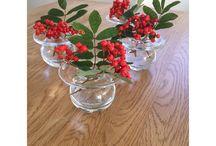 Blomster / Inspirasjon til de fine vasene mine