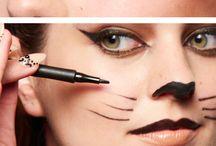 Helloween kat make up
