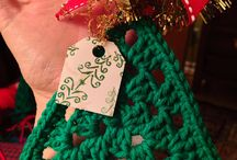 Crochet chritsmas ornaments