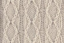 Knitting patterns & charts