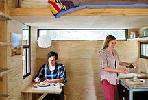 Home: Tiny homes; small spaces; sheds; studios; retreats