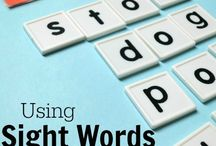 Sight Words / Learning and teaching sight words - ideas and activities  / by Melissa Taylor