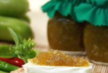 Confettura di pomodori verdi