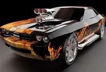 Awesome cars and trucks / by Chris Fuller