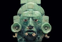 Ancient culture art - Maya, Aztec, Olmec