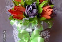 Wazon origami 3d