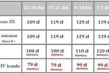 Wypożyczalnia aut Łódź / WSZYSTKIE AUTA WYPOSAŻONE W NIEZAWODNE SILNIKI  ZE  SPALANIEM ~`5-6L ON/100KM