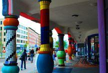 Hunderdwasser / Architecture